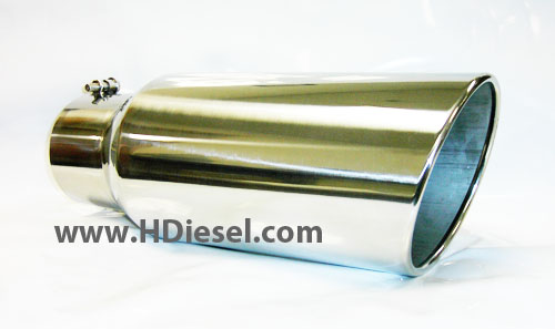 5 inch inlet to 7 inch outlet exhaust tip