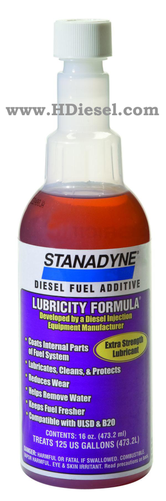 Stanadyne Lubricity Formula Diesel Fuel Additive