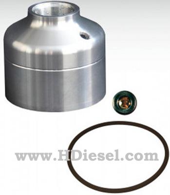 For 2001-2012 6.6L LB7 LLY LBZ LMM LML Duramax Stock Fuel Filter Delete Kit