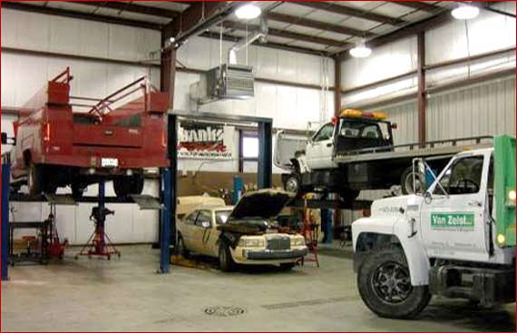 diesel Commercial Truck Engine Repair