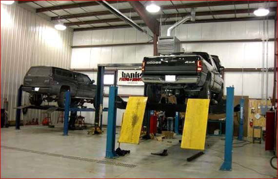 Diesel fuel injection repair wisconsin diesel repair for Small motor repair shop